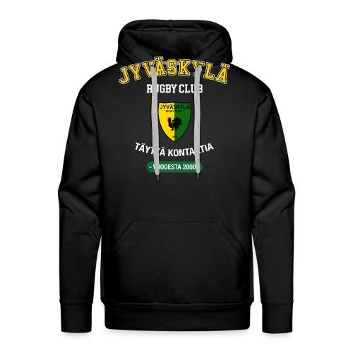 JRC Hoodie Black Logo - Miesten premium-huppari