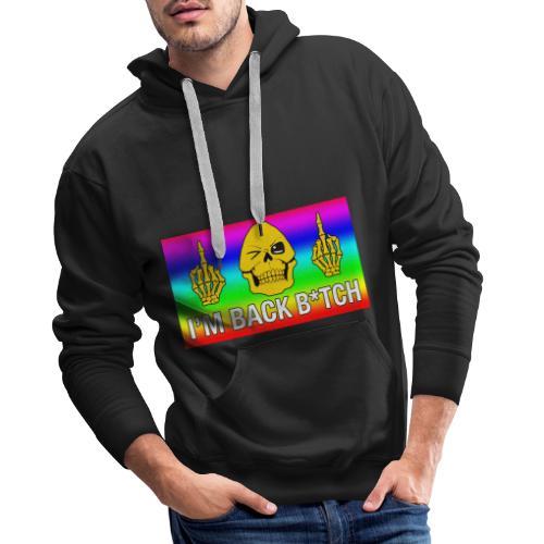 Skeletor I'M BACK B*TCH - Sweat-shirt à capuche Premium pour hommes
