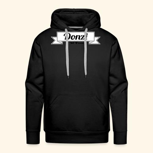 DonziBanner_bw - Männer Premium Hoodie