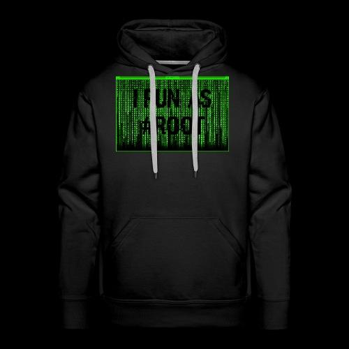 #ROOT - Sweat-shirt à capuche Premium pour hommes