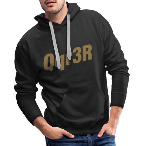 Qqr3R - Männer Premium Hoodie