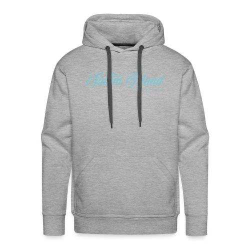 Salam Island calli bleu - Sweat-shirt à capuche Premium pour hommes