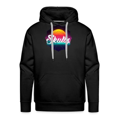 Retr0 Skullz - Men's Premium Hoodie