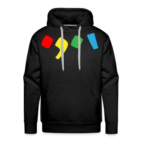 Tjien Logo Design - Accents - Mannen Premium hoodie