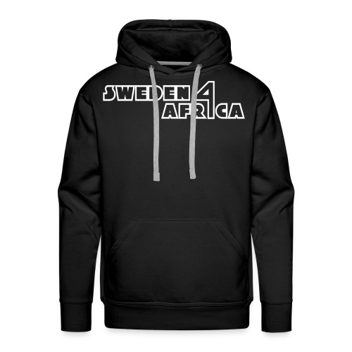 sweden 4 africa text logo v2 white - Premiumluvtröja herr