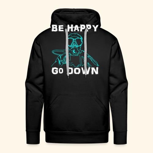BeHappy001 - Mannen Premium hoodie