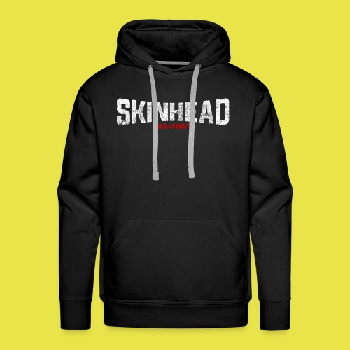 Skinhead – Red Front - Men's Premium Hoodie