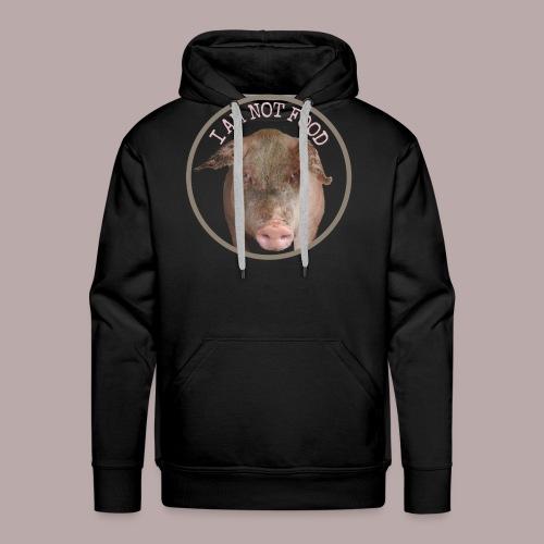 I AM NOT FOOD PIG - Premiumluvtröja herr