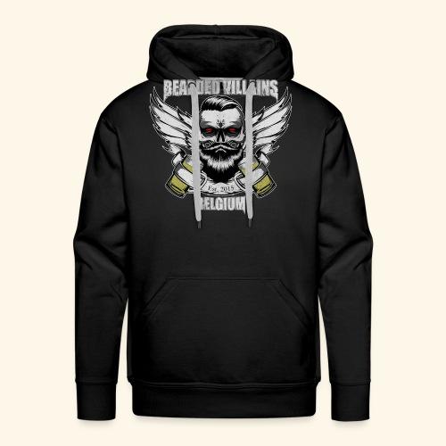 Bearded Villains Belgium - Men's Premium Hoodie