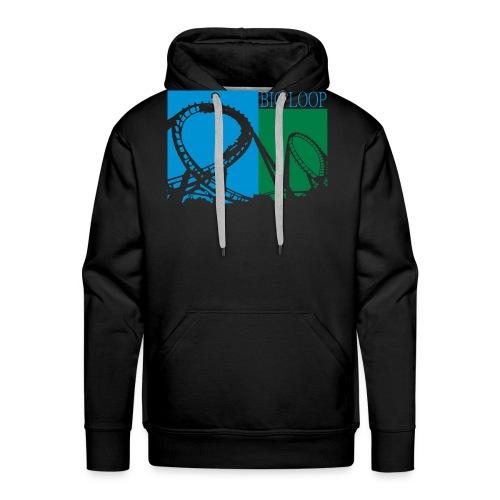 Big Loop Coaster Fan Logo - Männer Premium Hoodie