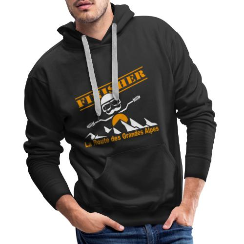 Finisher motofree - Sweat-shirt à capuche Premium pour hommes