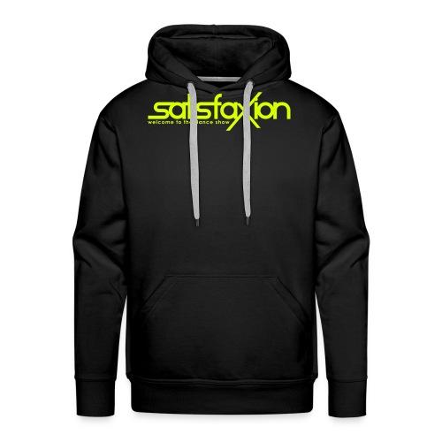 SatisfaXion Wear - Sudadera con capucha premium para hombre