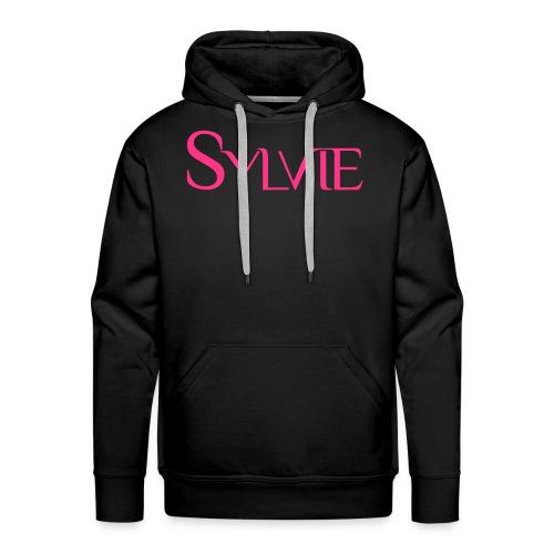 SYLVIElogo 60 - Sweat-shirt à capuche Premium pour hommes