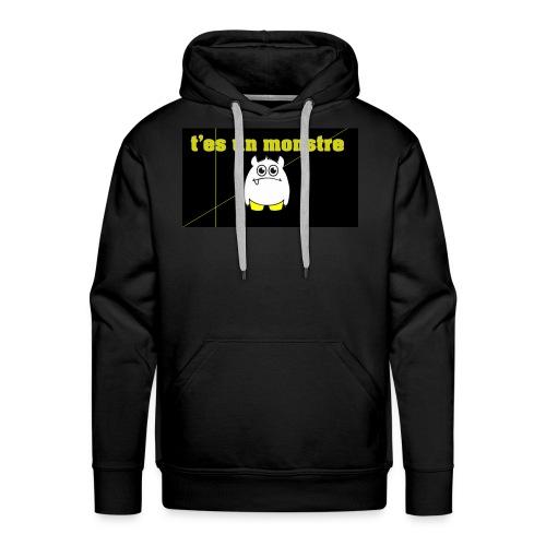 monster - Sweat-shirt à capuche Premium pour hommes