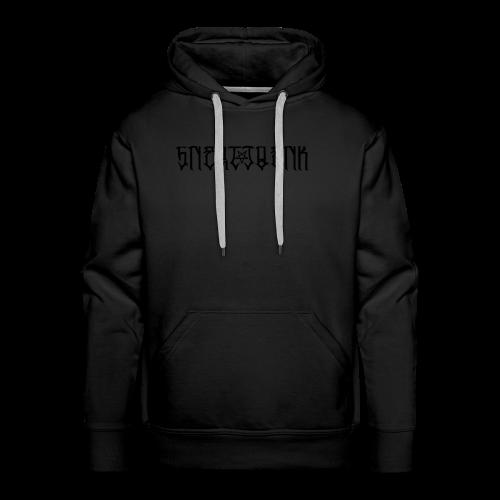 BLACK SNERTJOENK BLACK PENTAGRAM - Men's Premium Hoodie