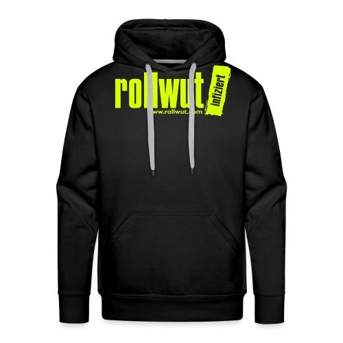 Rollwut Logo - Männer Premium Hoodie