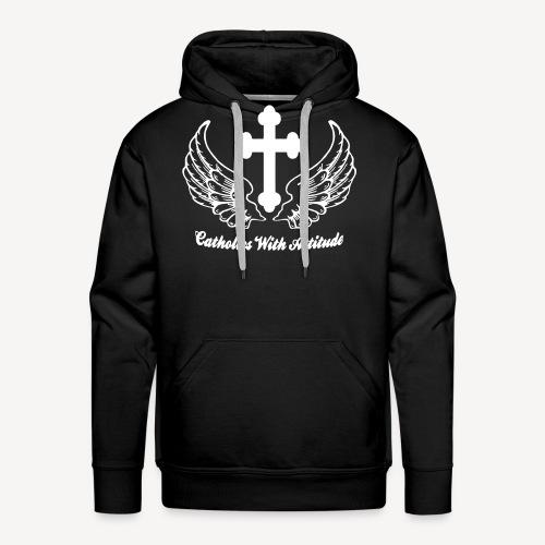 CATHOLICS WITH ATTITUDE - Men's Premium Hoodie