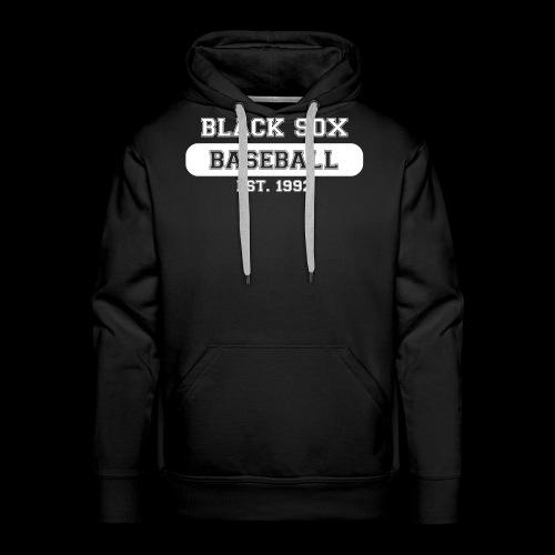BlackSox_ClassicStyle_rev - Männer Premium Hoodie
