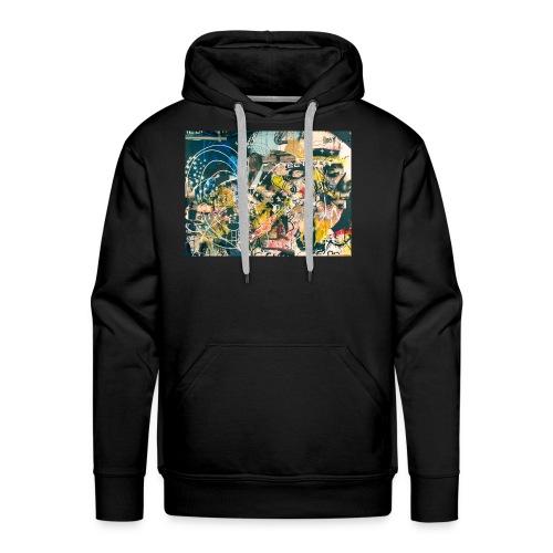 art graffiti abstract vintage - Sudadera con capucha premium para hombre