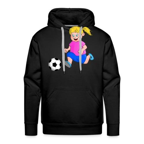Fußball Mädchen - Männer Premium Hoodie