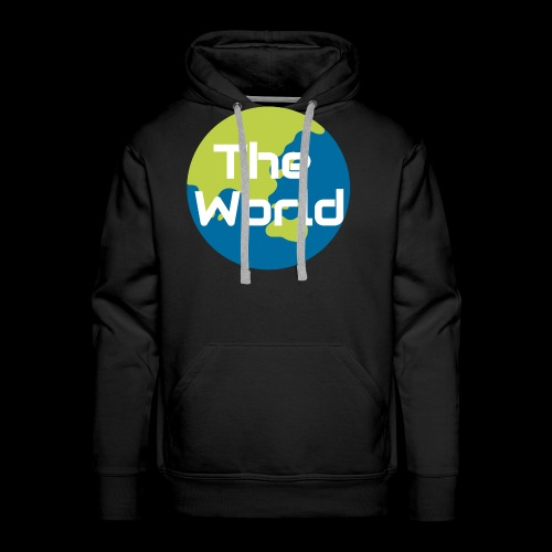 The World Earth - Herre Premium hættetrøje