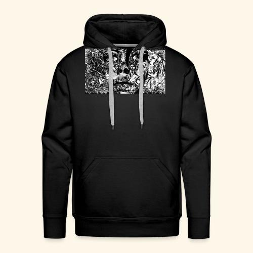 Collage - Männer Premium Hoodie