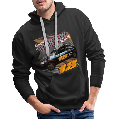 Shannon Morrow Racing 18 front & back - Men's Premium Hoodie
