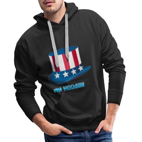 My Holiday Święto Kapelusza - Bluza męska Premium z kapturem