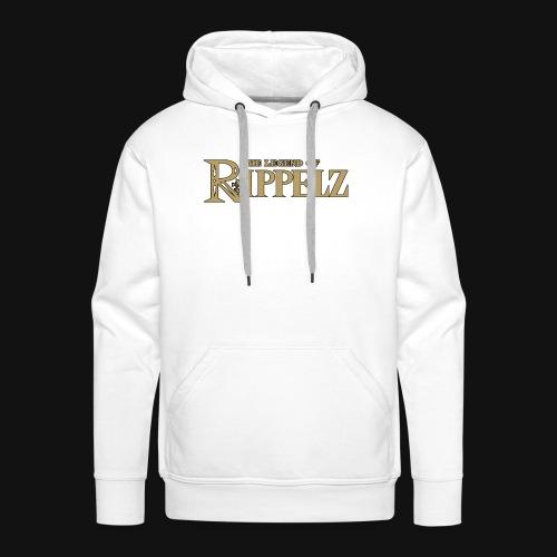 Rippelz - The Legend of Rippelz (Schriftzug only) - Männer Premium Hoodie