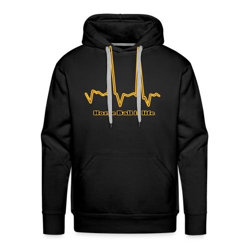 hb is life - Sweat-shirt à capuche Premium pour hommes