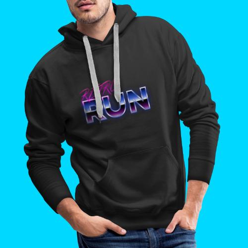 Retro Run Merch - Men's Premium Hoodie
