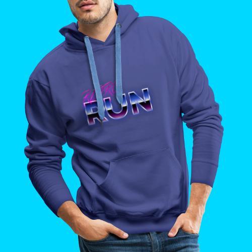 Retro Run Merch - Men's Premium Hoodie