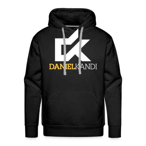 kandi black background - Men's Premium Hoodie
