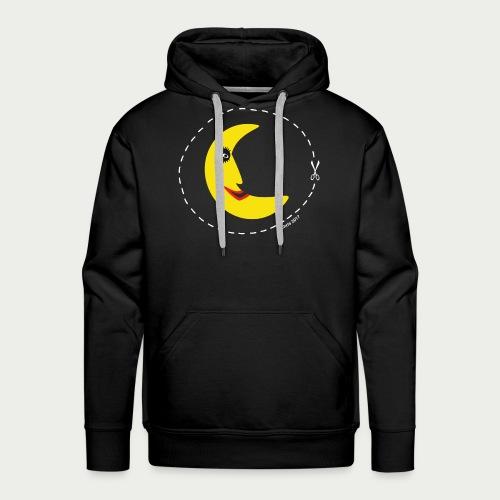 Mann im Mond - Männer Premium Hoodie