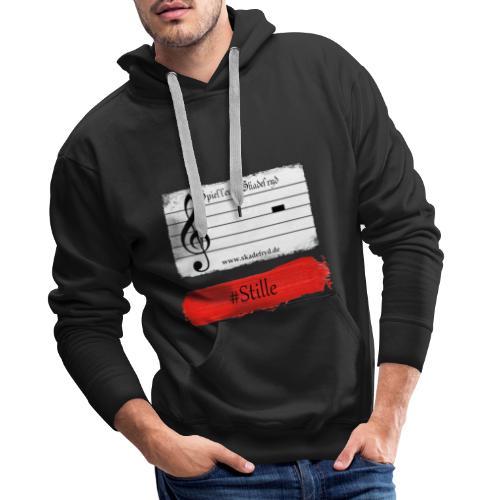 #Stille - Männer Premium Hoodie