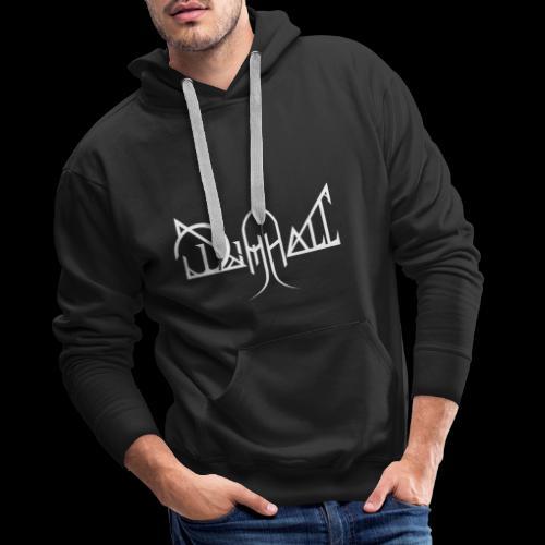 Dimhall White - Men's Premium Hoodie