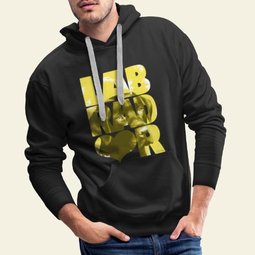 NASSU Labrador Brown I - Miesten premium-huppari
