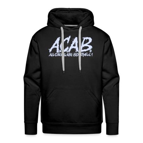 ACAB - Herre Premium hættetrøje
