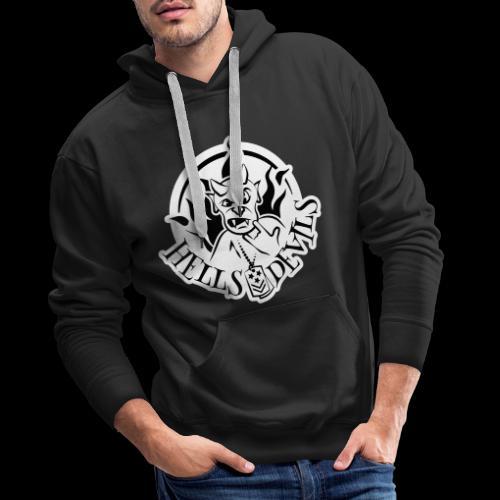 Logo Hells Devils - Männer Premium Hoodie