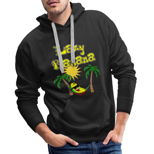 Who is as chilly as the Lazy Banana - Men's Premium Hoodie