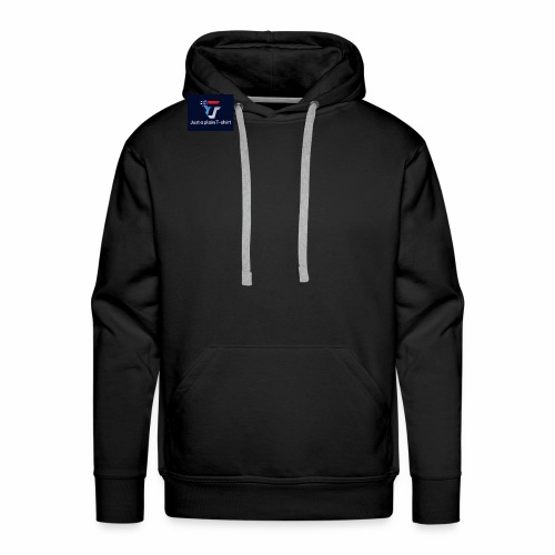 Just a plain T-shirt - Men's Premium Hoodie
