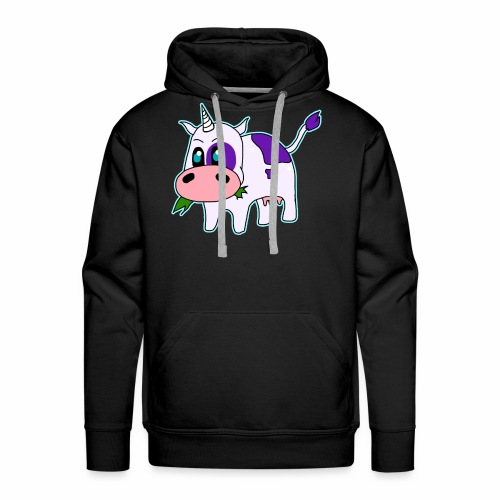 Logo UniCow - Mannen Premium hoodie
