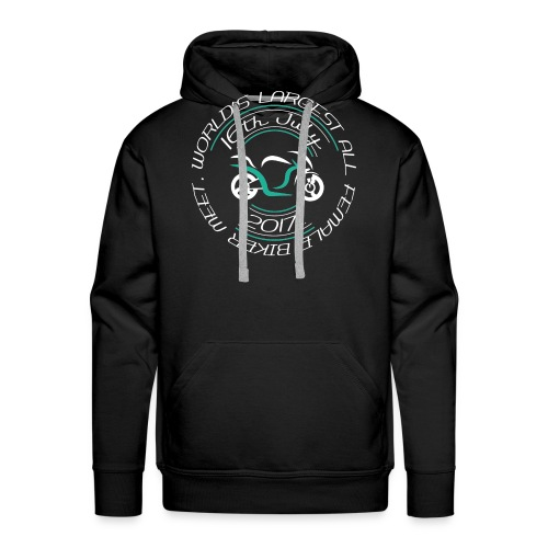 blacktshirt logo png - Men's Premium Hoodie