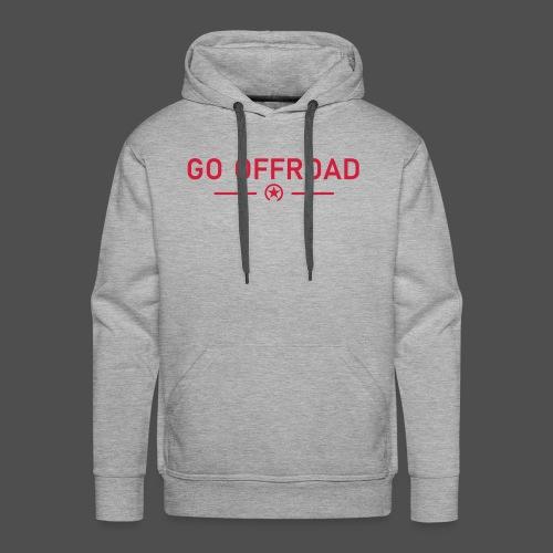 go offroad - Männer Premium Hoodie