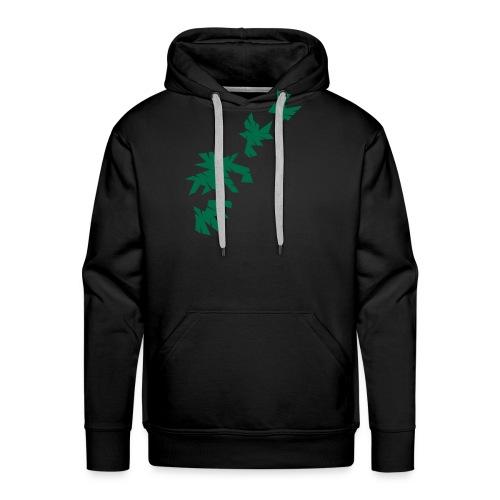 Green Leaves - Männer Premium Hoodie