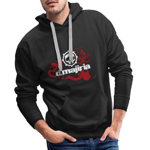 D.Majiria engrenages - Sweat-shirt à capuche Premium pour hommes