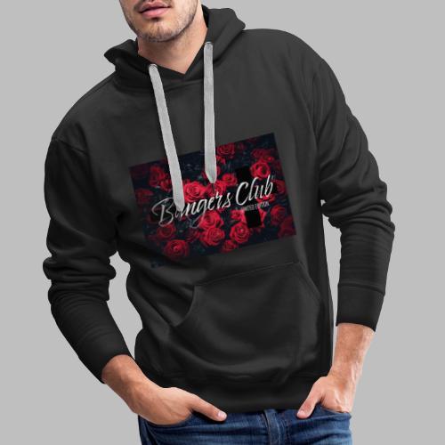 Bangers Club Roses - Männer Premium Hoodie