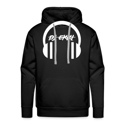 DJ Ekki Headphones - Männer Premium Hoodie