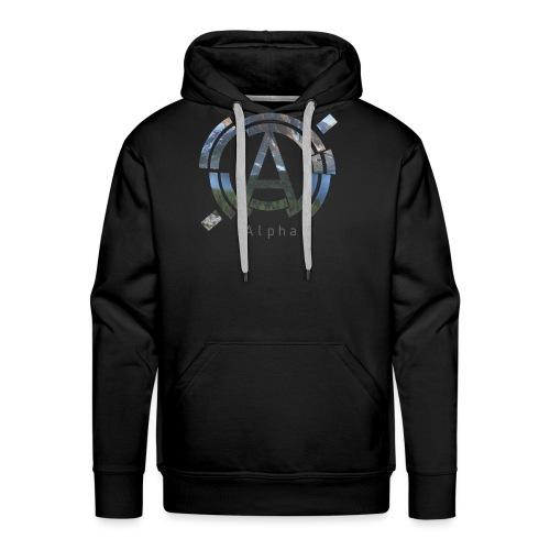 AlphaOfficial Logo T-Shirt - Men's Premium Hoodie