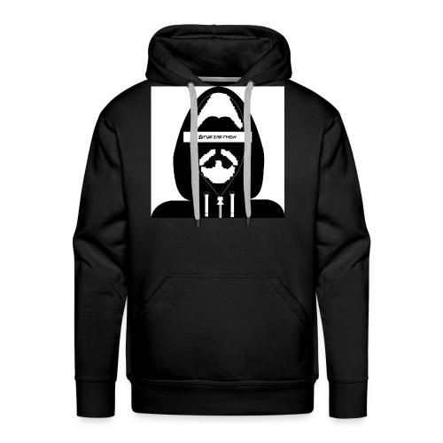 Biturzartmon Hoodie Motiv schwarz/weiss - Männer Premium Hoodie